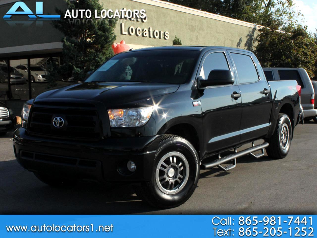 Toyota Tundra 4WD Truck CrewMax 5.7L FFV V8 6-Spd AT (Natl) 2012