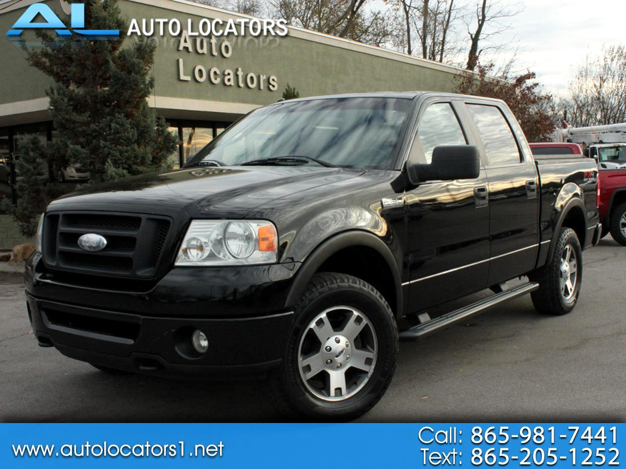 """Ford F-150 4WD SuperCrew 139"""" FX4 2007"""