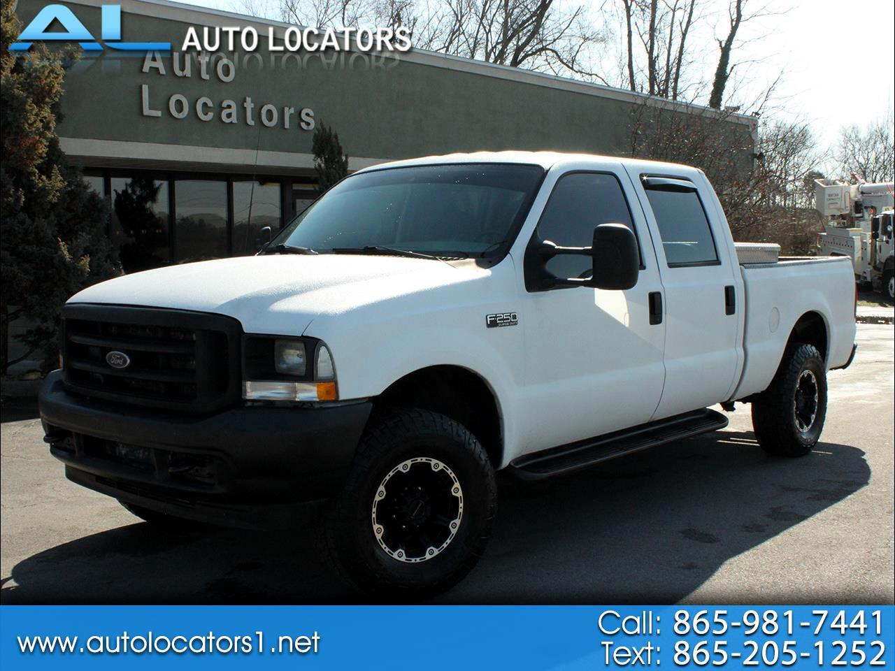 "Ford Super Duty F-250 Crew Cab 156"" XLT 4WD 2003"