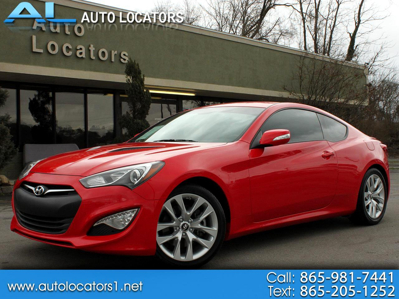 Hyundai Genesis Coupe 2dr 3.8L Auto Base w/Black Seats 2015