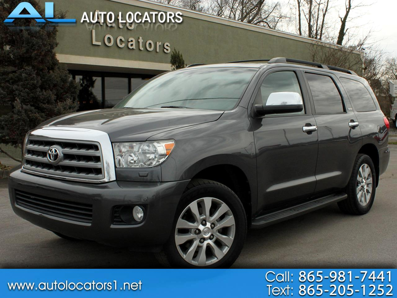Toyota Sequoia 4WD 5.7L Limited (Natl) 2012