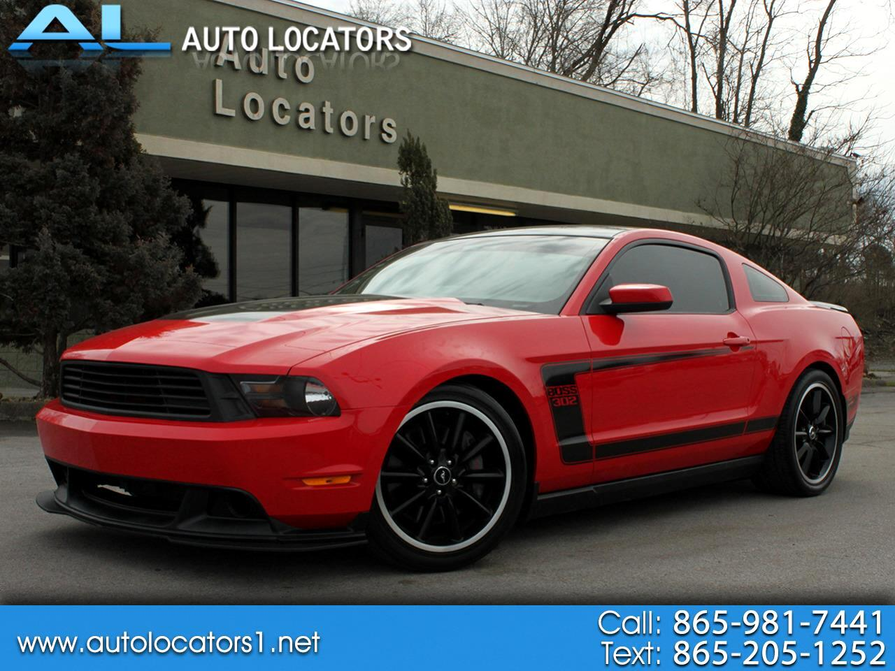 Ford Mustang 2dr Cpe Boss 302 2012