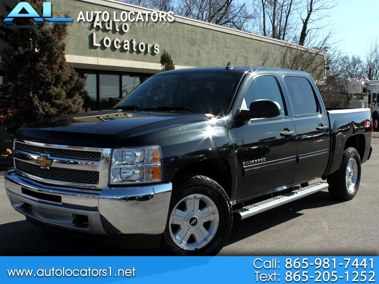 """Chevrolet Silverado 1500 4WD Crew Cab 143.5"""" LT 2012"""