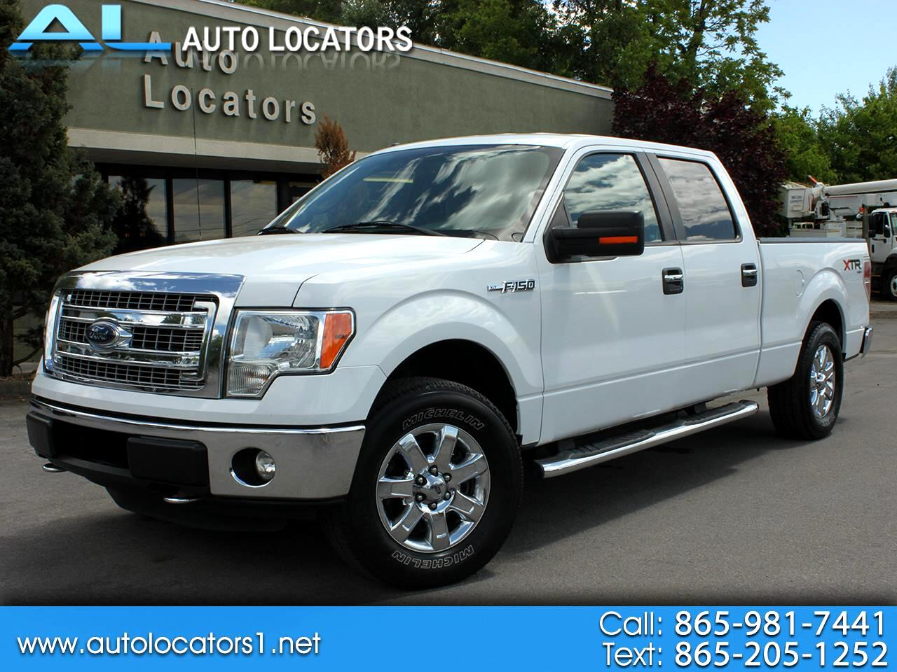 "Ford F-150 133"" WB 4WD 2014"