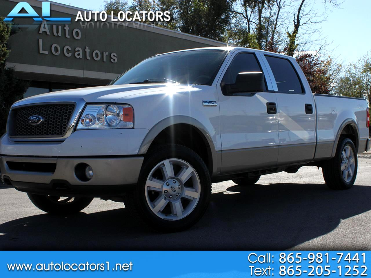 """Ford F-150 4WD SuperCab 145"""" Lariat 2008"""