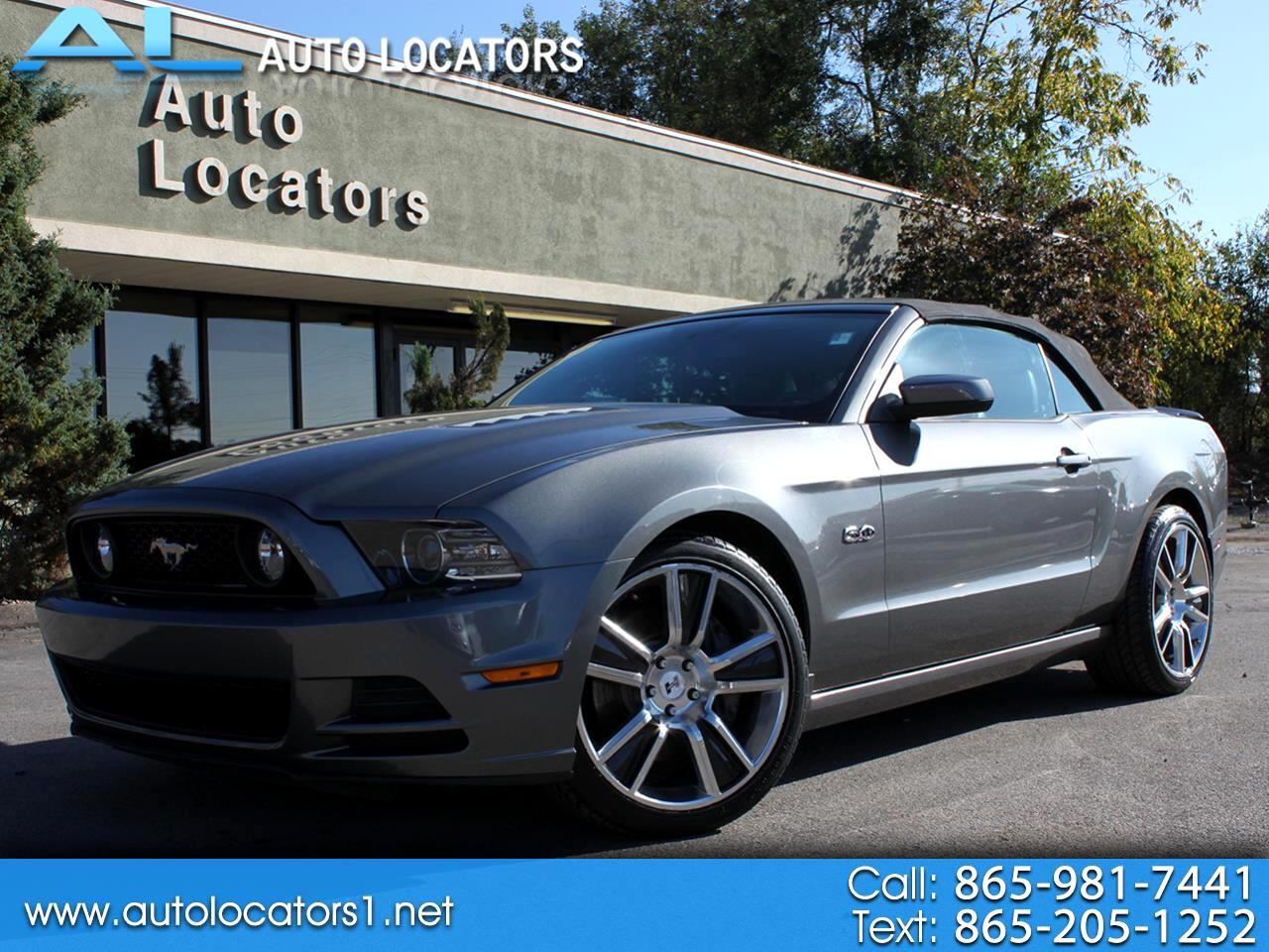 Ford Mustang 2dr Conv GT 2013
