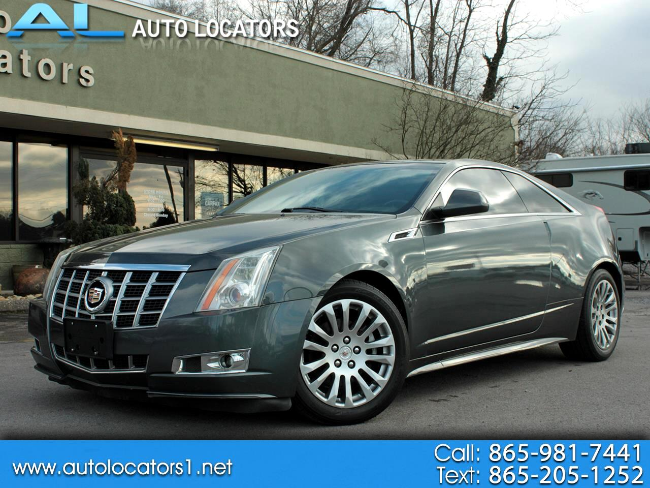 Cadillac CTS Coupe 2dr Cpe Performance RWD 2012