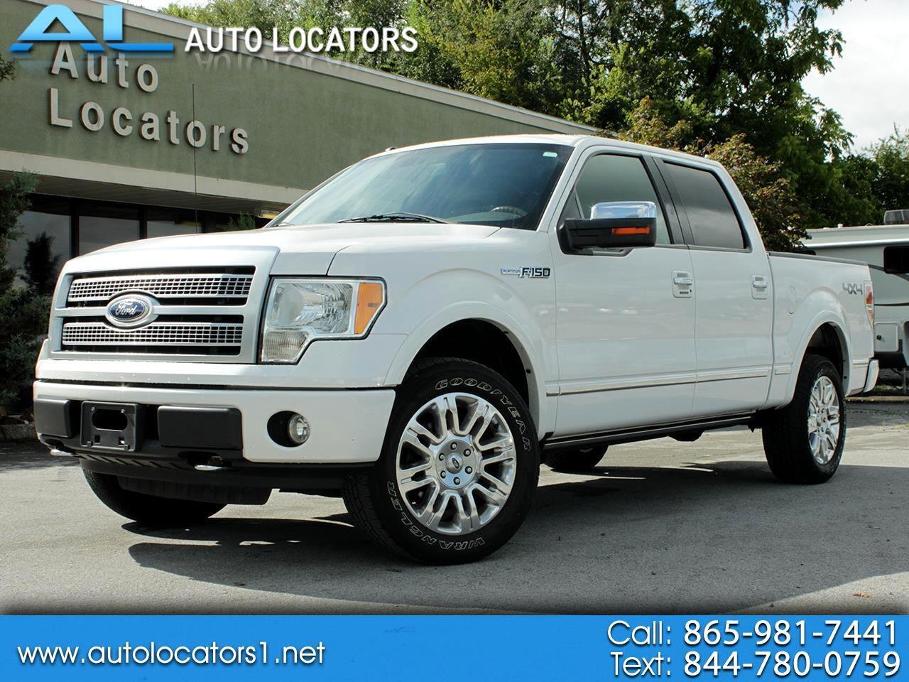 """Ford F-150 4WD SuperCrew 145"""" Platinum 2010"""