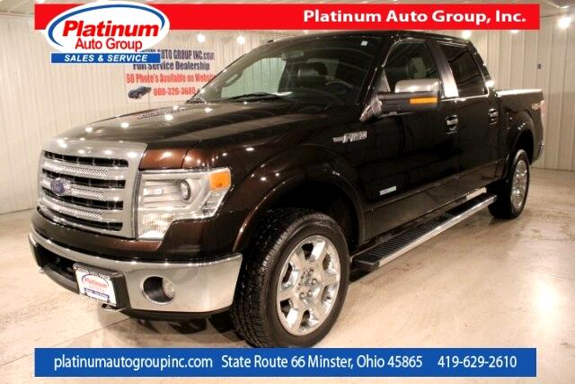 2013 Ford F-150 Lariat 4D SuperCrew