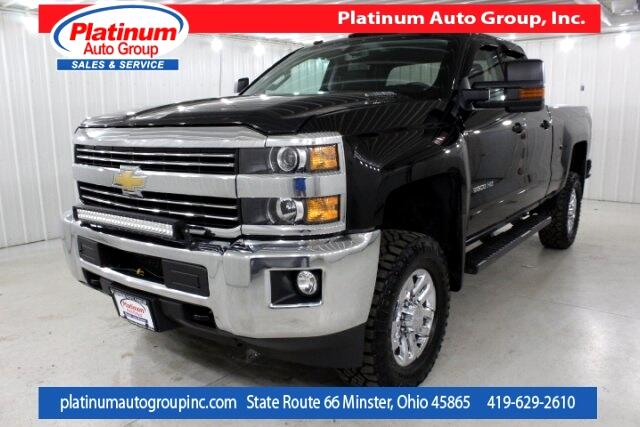 2015 Chevrolet Silverado 2500HD LT 4D Double Cab