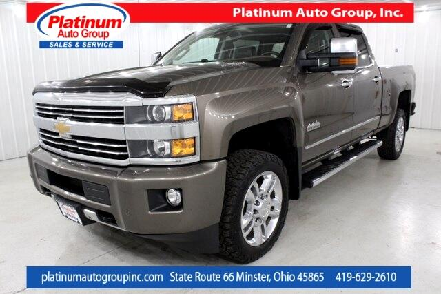 2015 Chevrolet Silverado 2500HD High Country 4D Crew Cab