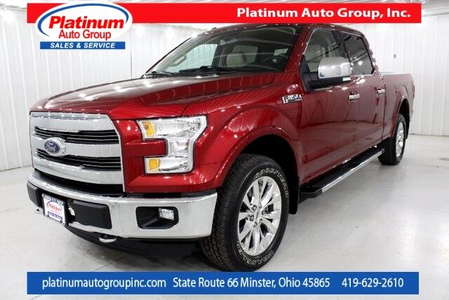 2016 Ford F-150 Lariat 4D SuperCrew