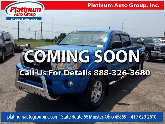 2011 Toyota Tacoma SR5 Double Cab Long Bed V6 6AT 4WD