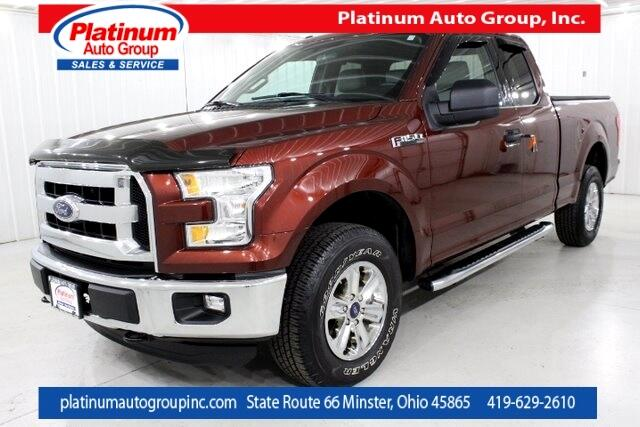 2016 Ford F-150 XLT Super Cab