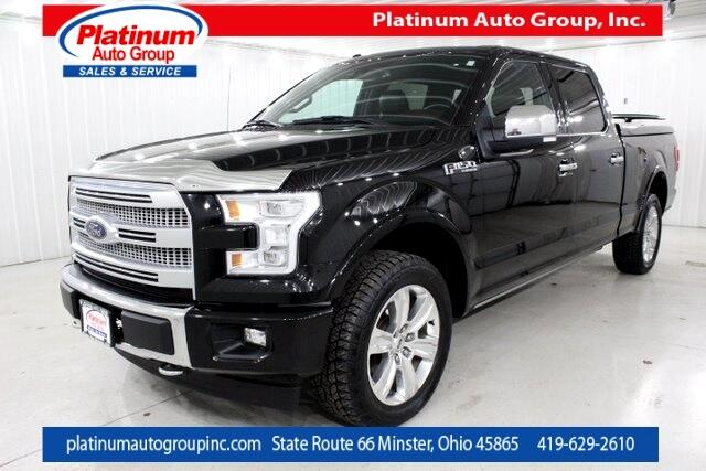 2017 Ford F-150 Platinum 4D SuperCrew