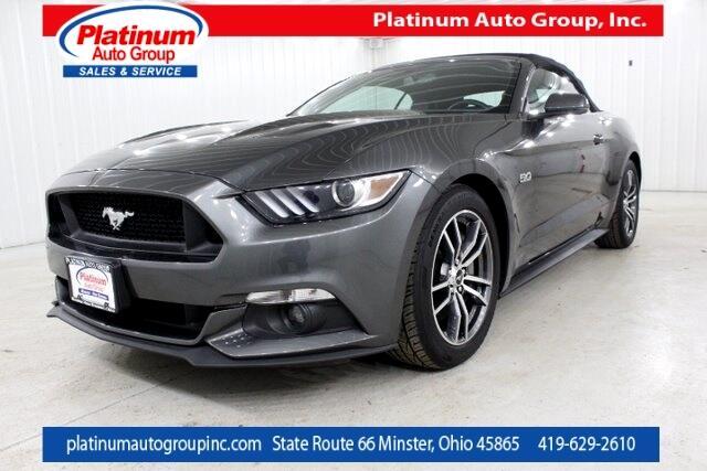 2017 Ford Mustang GT Premium 2D Convertible