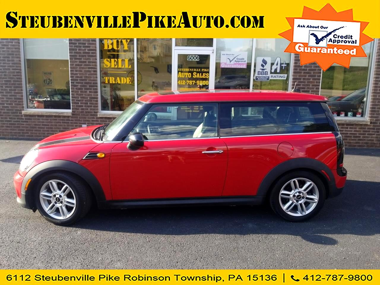 2012 MINI Clubman Base