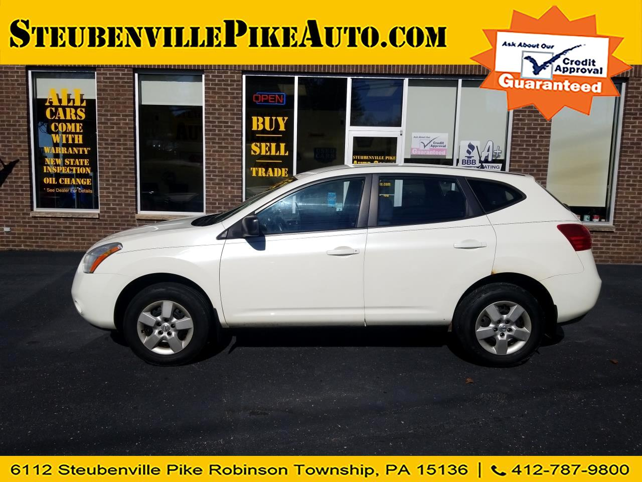 2008 Nissan Rogue 2017.5 AWD S