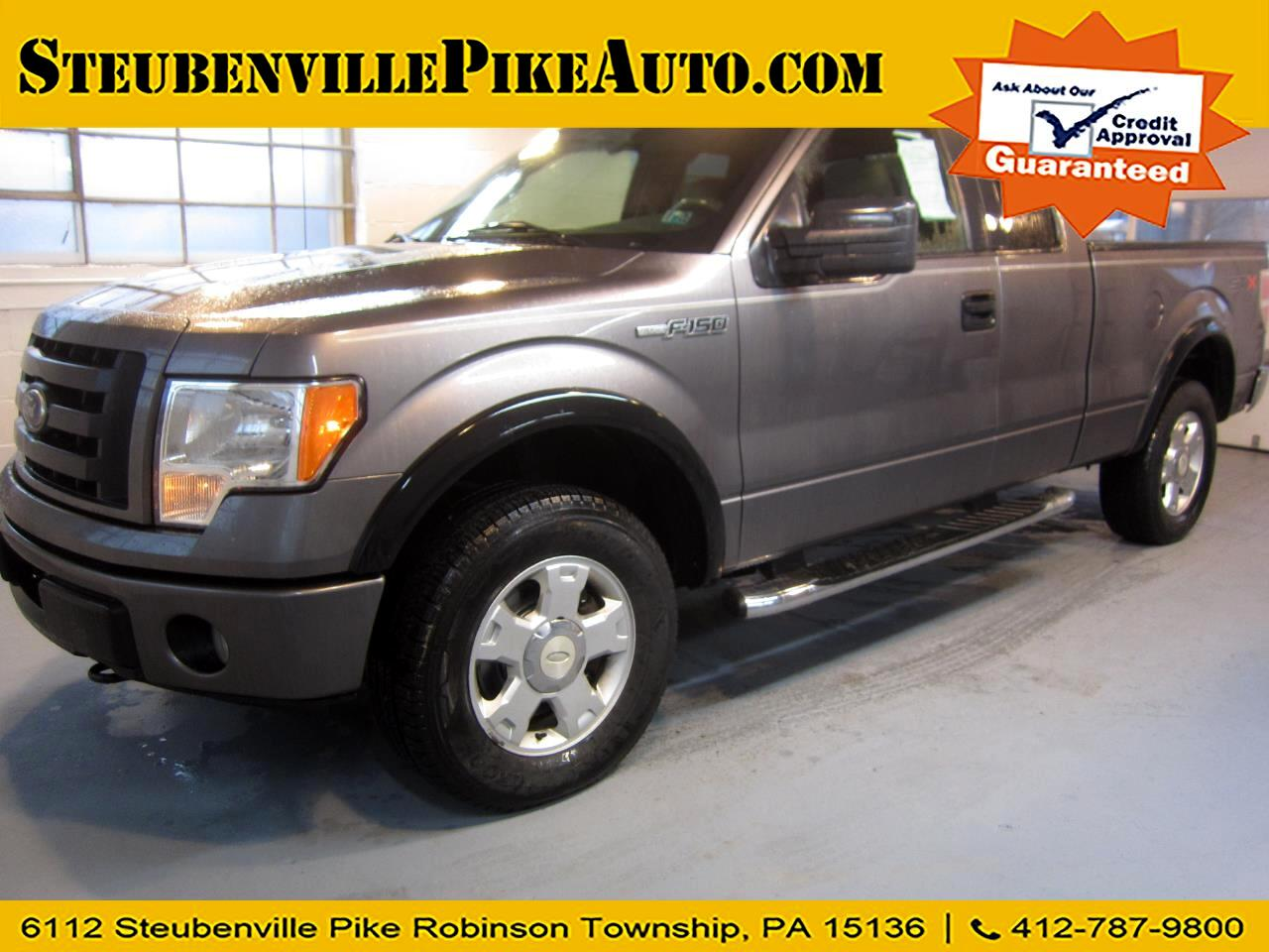 Ford F-150 XL SuperCab 6.5-ft. Bed 4WD 2010