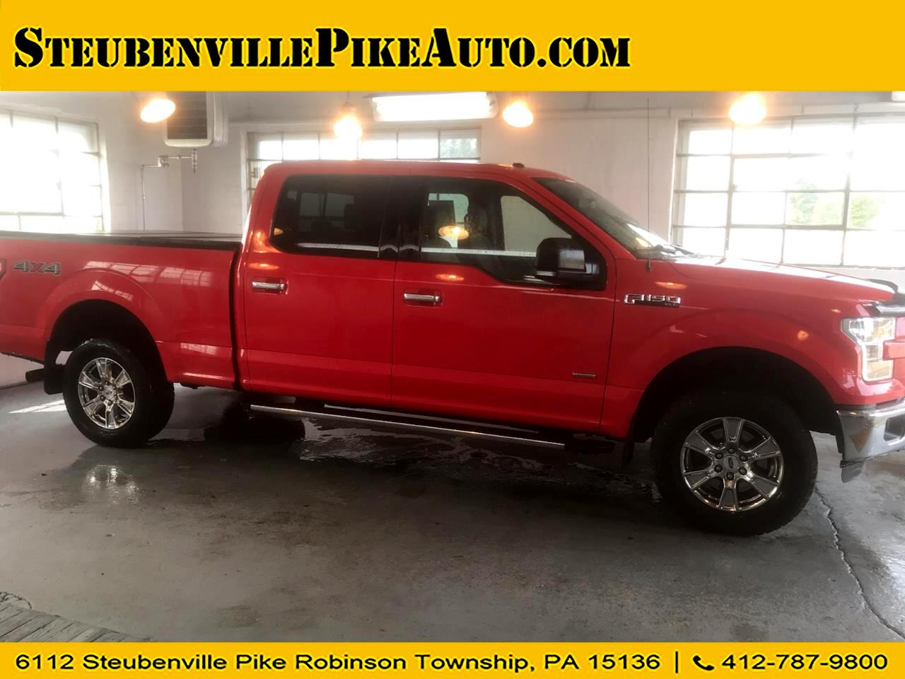 "Ford F-150 4WD SuperCrew 157"" XLT 2016"