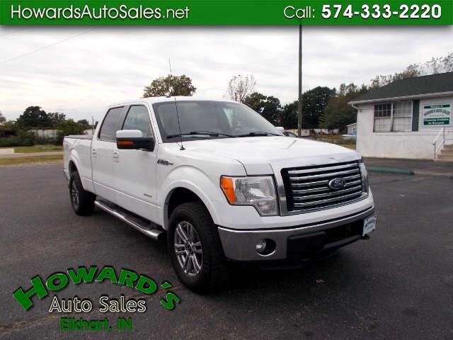 "2013 Ford F-150 4WD SuperCab 133"" Lariat"