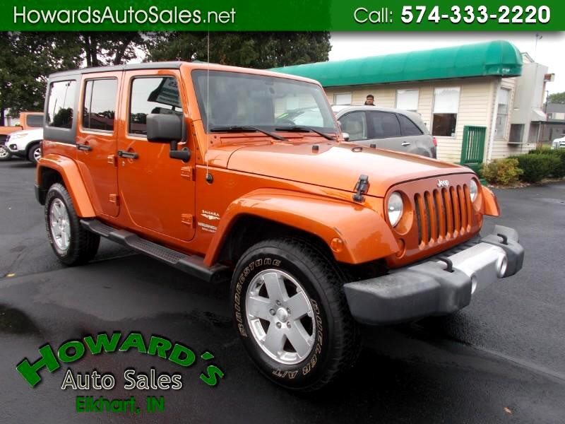 Jeep Wrangler Unlimited Sahara 4WD 2011