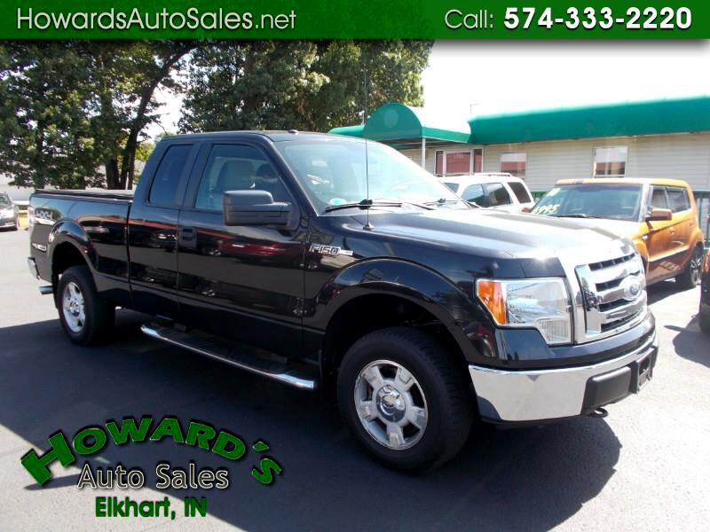 2010 Ford F-150 XLT SUPERCAB 4X4