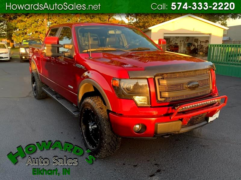 """2013 Ford F-150 4WD SuperCrew 139"""" FX4"""