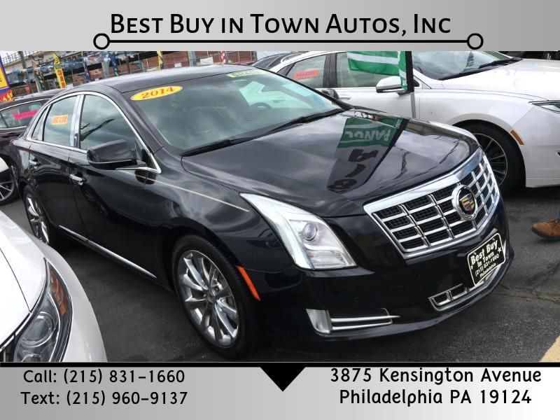 Cadillac XTS 4dr Sdn Luxury AWD 2014