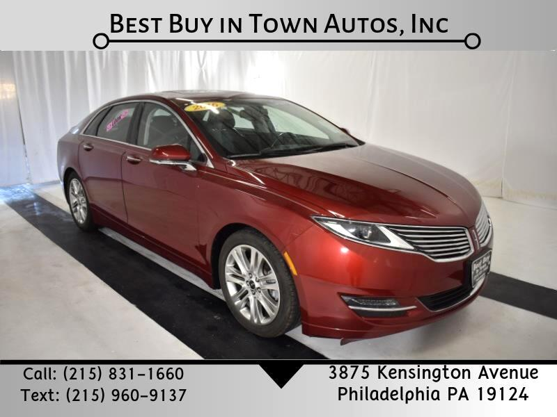 Lincoln MKZ 4dr Sdn AWD 2016