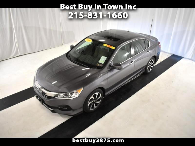 2016 Honda Accord Sedan 4dr I4 CVT EX