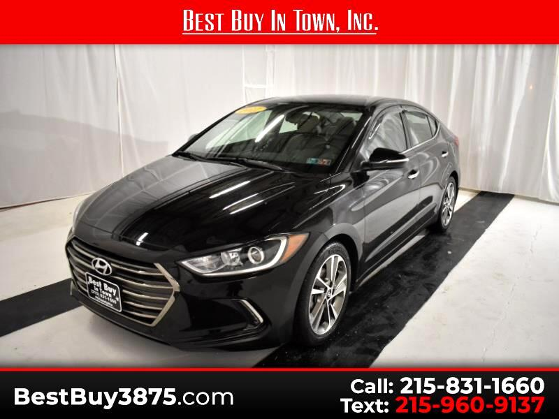 2017 Hyundai Elantra Limited 2.0L Auto PZEV (Alabama) *Ltd Avail*