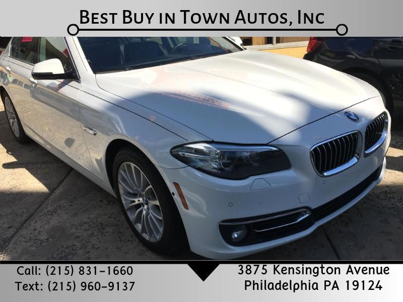 BMW 5 Series 4dr Sdn 528i xDrive AWD 2015
