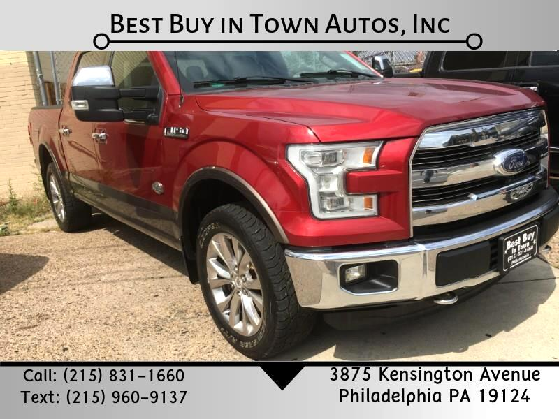 Ford F-150 King Ranch 4WD SuperCrew 6.5' Box 2015