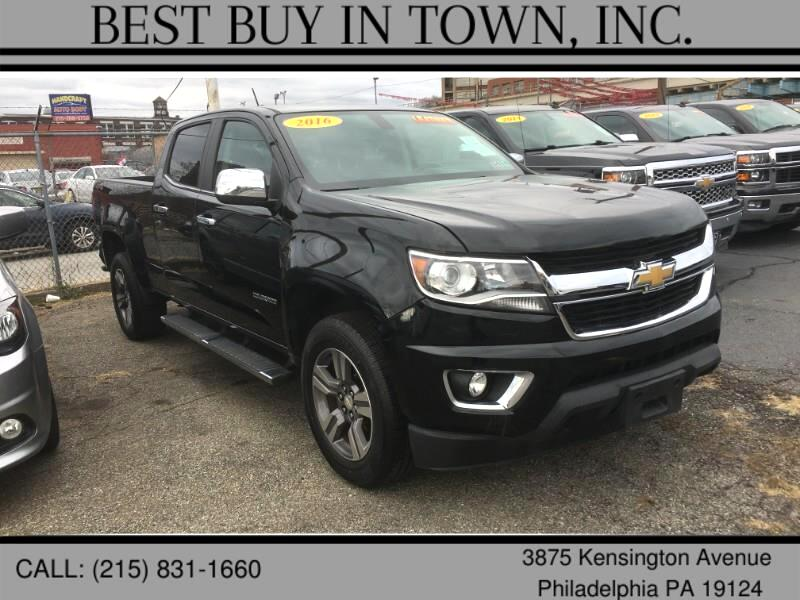 "Chevrolet Colorado 4WD Crew Cab 140.5"" LT 2016"