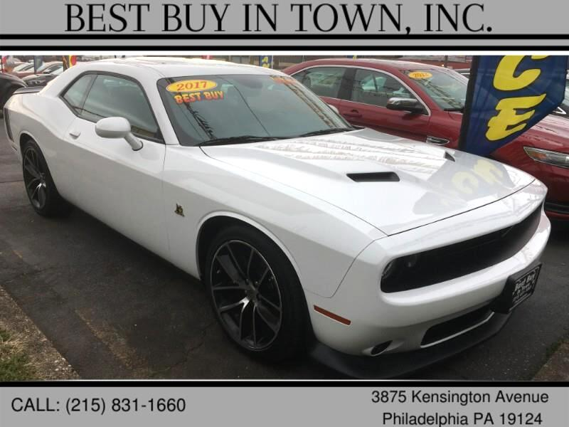 Dodge Challenger R/T Scat Pack Coupe 2017