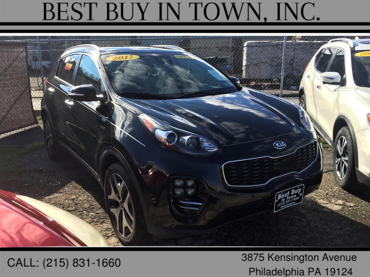 Kia Sportage SX Turbo AWD 2017