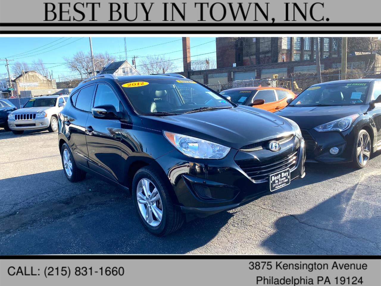 Hyundai Tucson FWD 4dr Auto GLS PZEV 2012