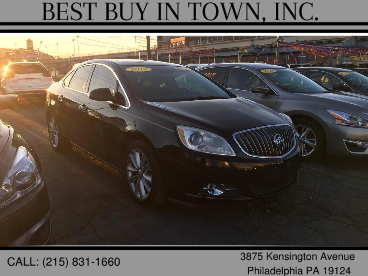 Buick Verano 4dr Sdn Leather Group 2012
