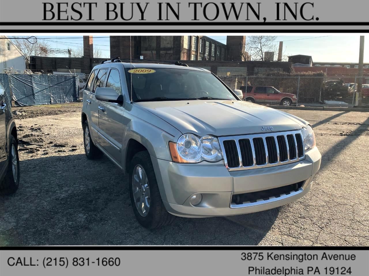 Jeep Grand Cherokee 4WD 4dr Overland *Ltd Avail* 2009