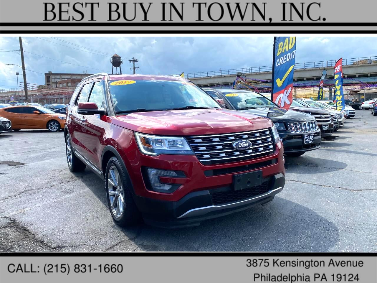 Ford Explorer Limited FWD 2017