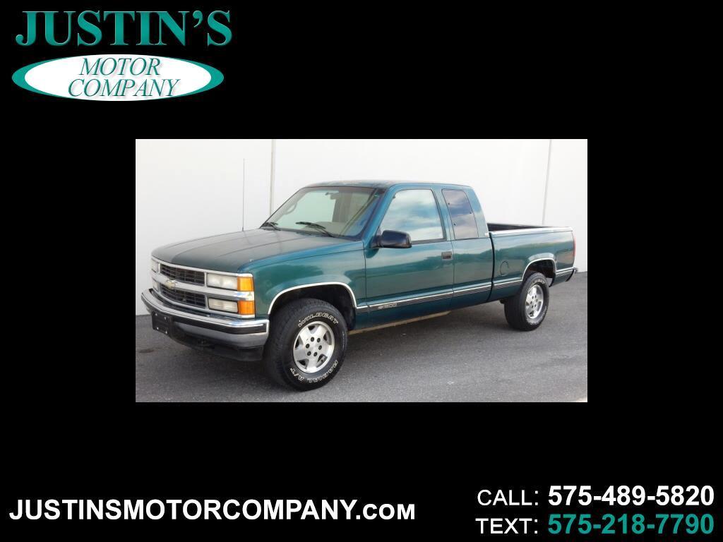"1998 Chevrolet C/K 1500 Ext Cab 141.5"" WB"