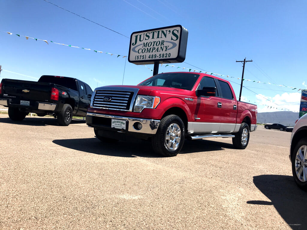 "2012 Ford F-150 2WD SuperCrew 145"" XLT"