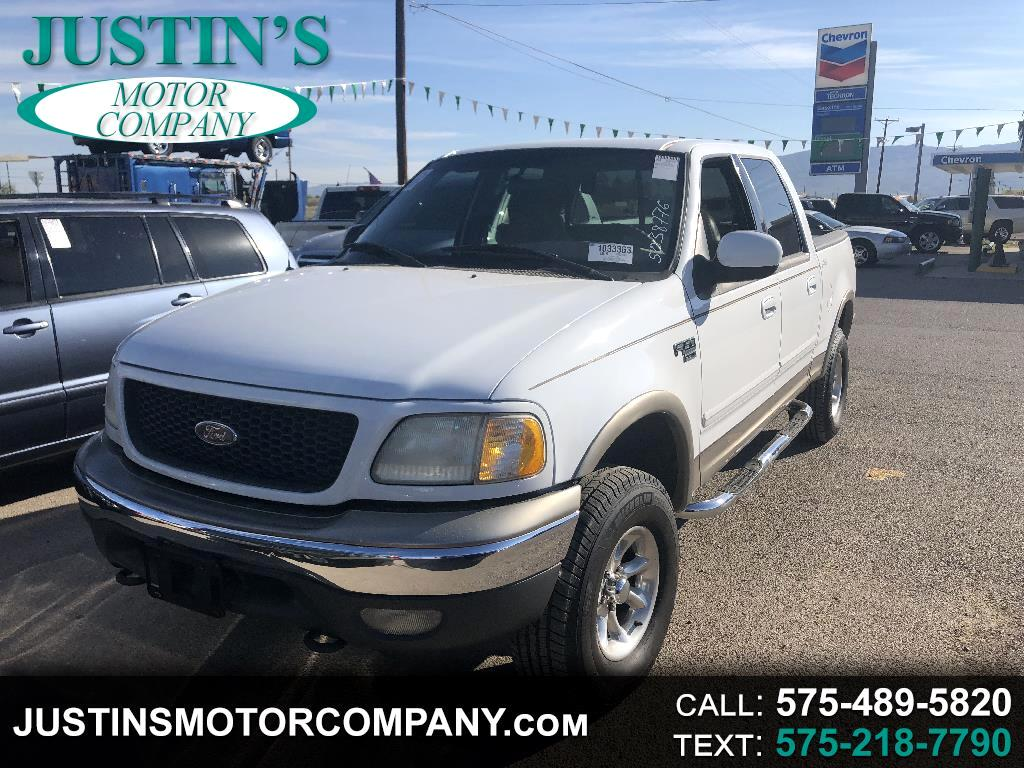 "2001 Ford F-150 SuperCrew Crew Cab 139"" Lariat 4WD"