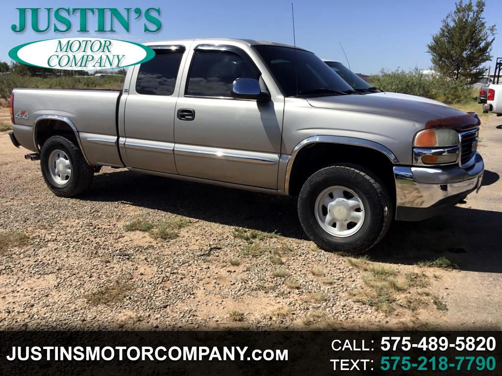 2000 GMC New Sierra 1500 3dr Ext Cab 143.5