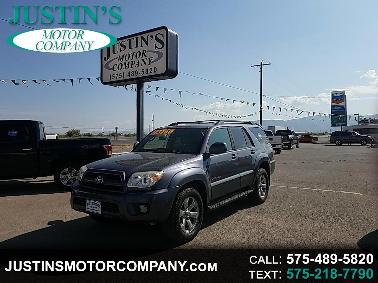 2007 Toyota 4Runner 4WD 4dr V6 Limited (Natl)