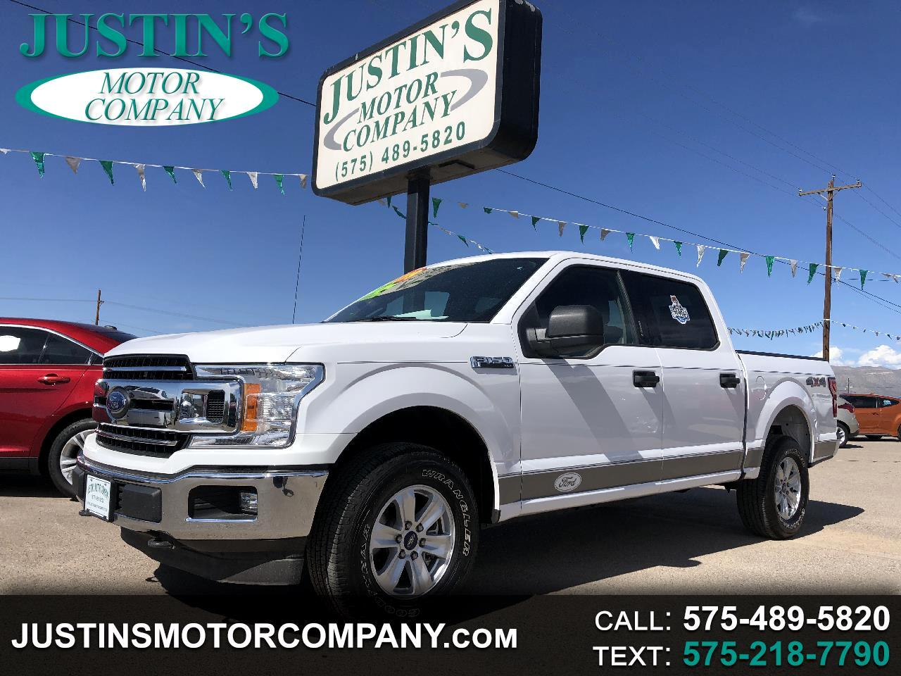 "2018 Ford F-150 4WD SuperCrew 139"" XLT"