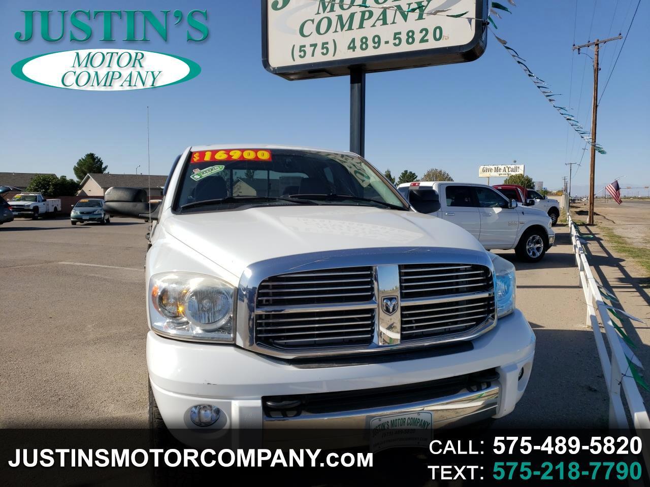 """2008 Dodge Ram 2500 4WD Quad Cab 140.5"""" Laramie"""