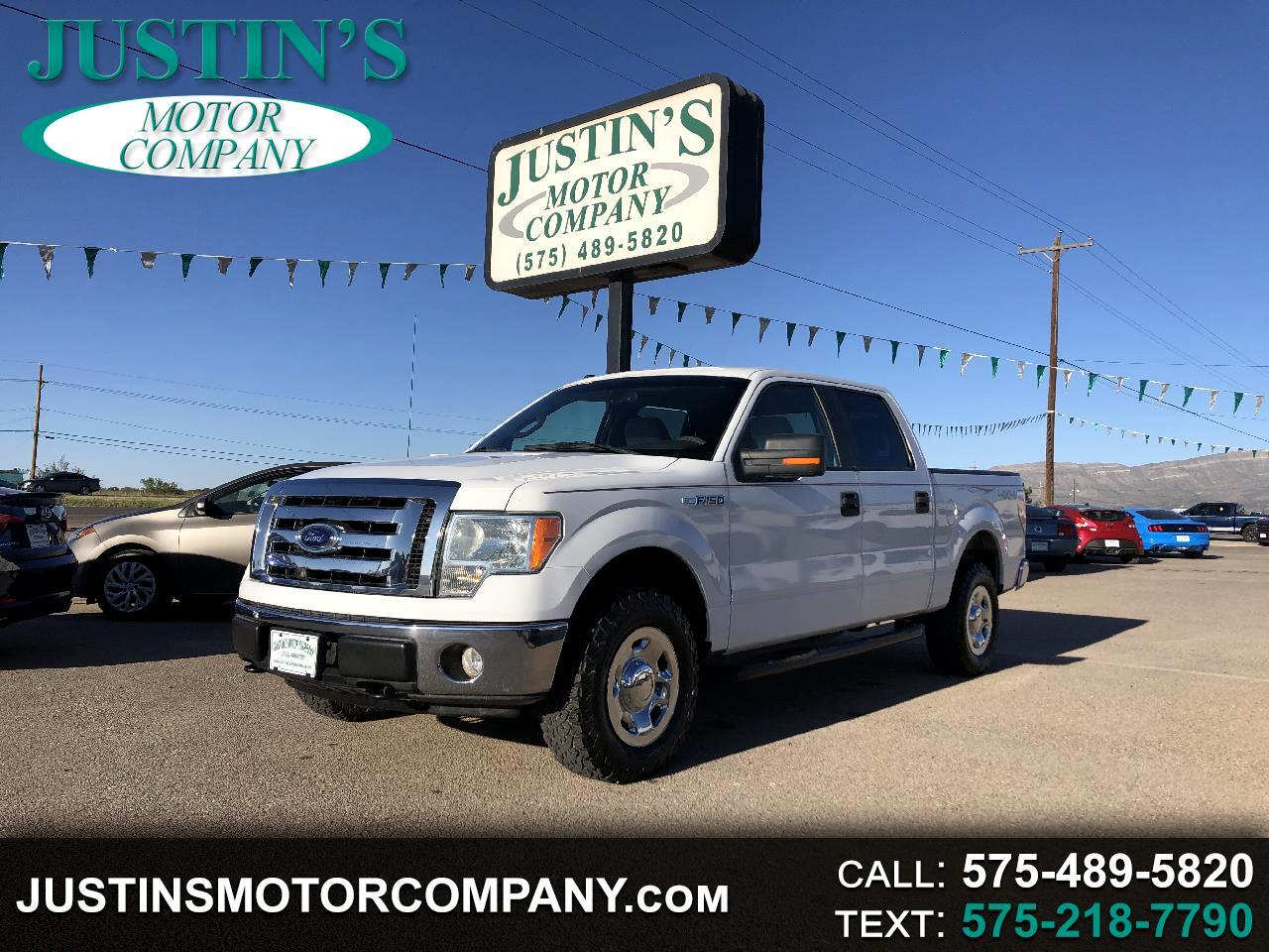 "Ford F-150 4WD SuperCrew 139"" XLT 2009"