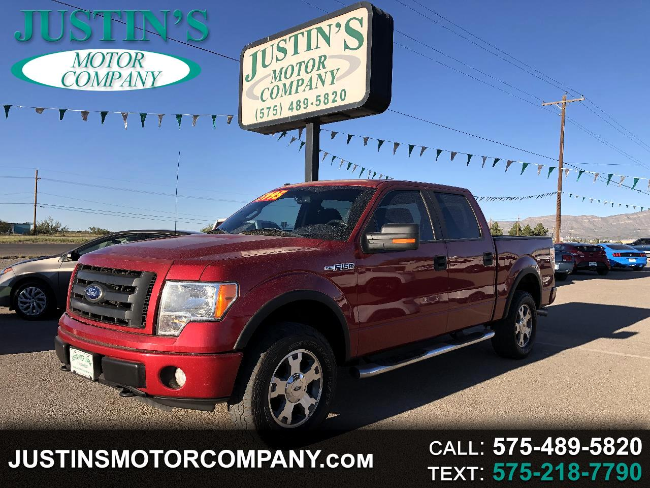 """Ford F-150 SuperCrew 139"""" FX4 4WD 2010"""